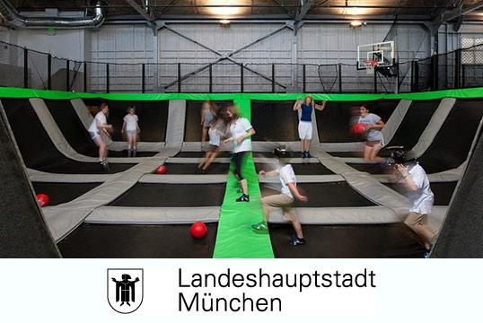 Trampolin Halle München